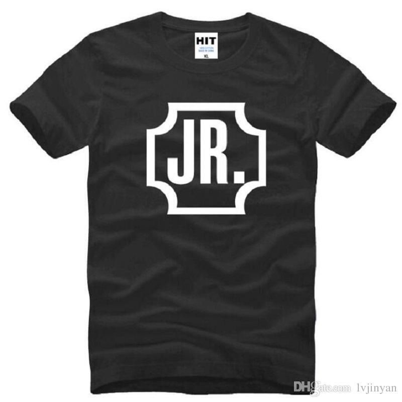 Nouveau Été GOT7 JR T Shirts Hommes Coton À Manches Courtes O-cou Imprimé Funs Jae Bum Hommes T-Shirt De Mode Mâle Musique Bande Top T-shirts
