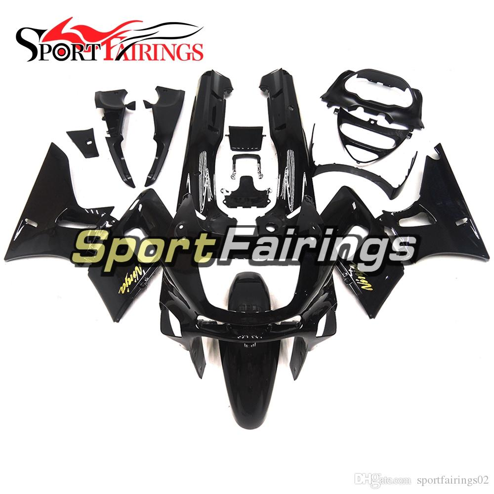 Injection Fairings For Kawasaki ZZR600 ZZR-400 1993 - 2007 ABS Plastic Complete Motorcycle Fairing Kits Cowling Gloss Black Gold Decals