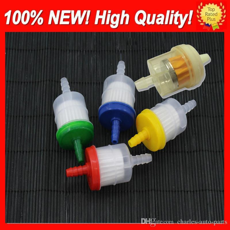 1USD Free shipping Universal Petrol Gas Gasoline Liquid Fuel Filter for Scooter Motorcycle Motorbike Car Dirt Pocket Bike ATV Fuel Filters
