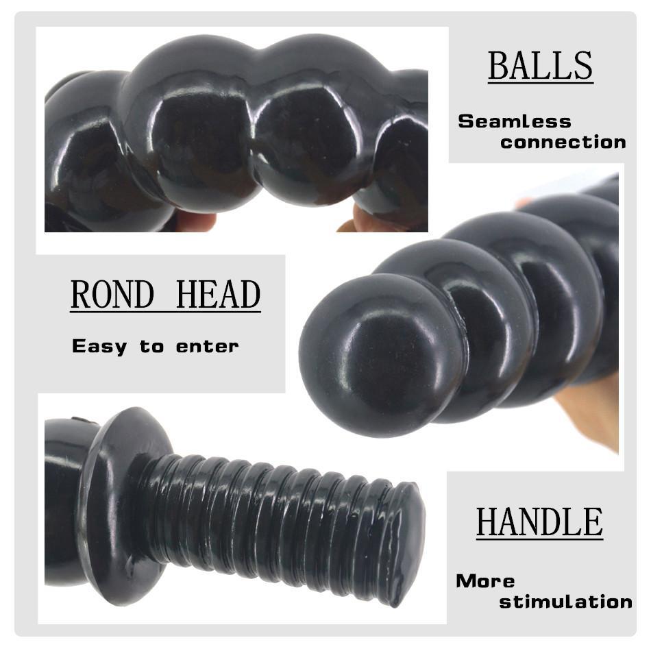 30cm big dildo beads anal dildo box packed butt plug ball anal plug sex toys for women men adult product sex shop