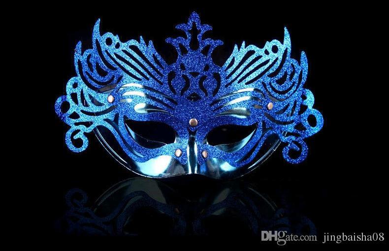 Máscaras venecianas del partido de Halloween manera de la antigüedad romana del gladiador Máscara del carnaval de la mascarada para hombre