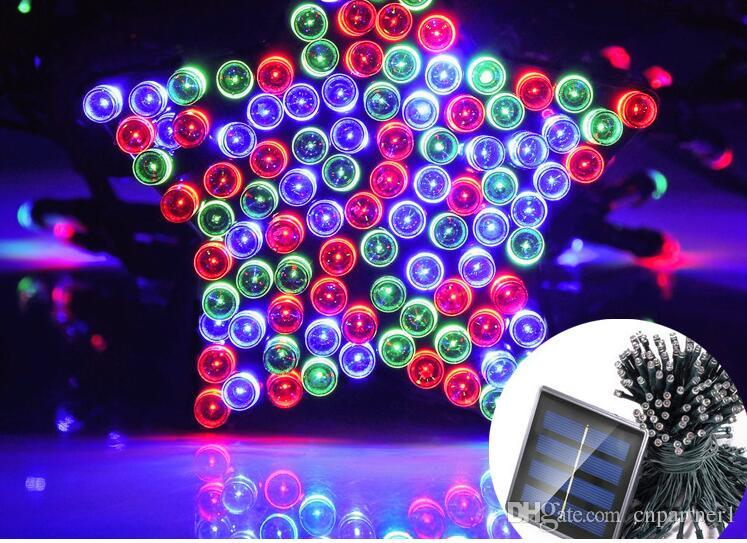 Solar String lights Led Christmas Lights, 72ft 22m 200 LED 32ft 100led Fairy String Lights, Ambiance Wedding Party Xmas for Outdoor decor