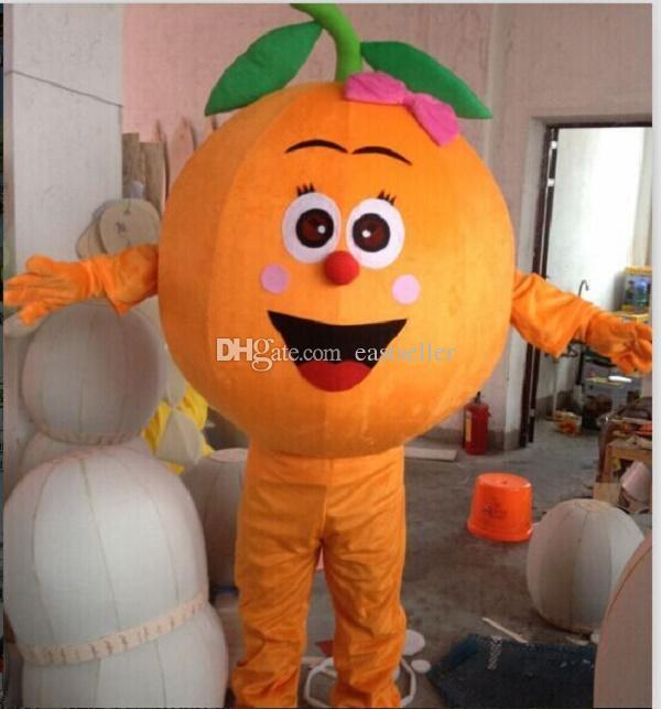 Coconut Orange Durian fruit cartoon dolls mascot costumes props costumes Halloween