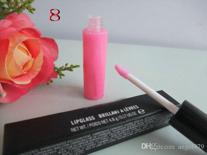 Spedizione gratuita! 12 pezzi / lotto nuovo trucco LIPGLASS BRILLANT Lip Gloss! 4.8g
