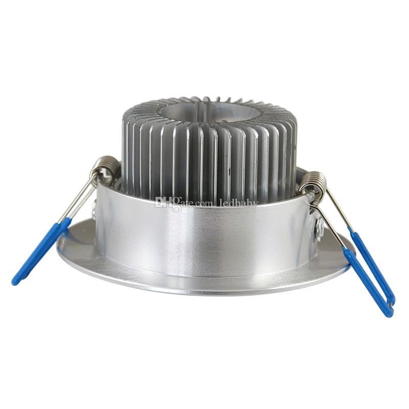 الصمام راحة السقف 9W أدى دوونلايتس الدافئة wihte بارد wihte AC 85-265V الإضاءة في الأماكن المغلقة مع الصمام سائق