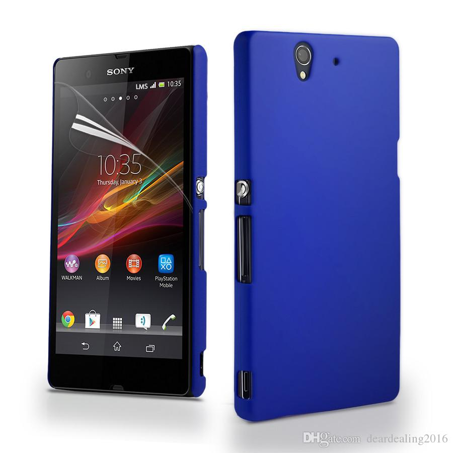 Frosted Hard Cover Case For Sony Xperia Z1 Z2 Z Z3 Z5 Compact Case M2 M4 M5 E5 X XA X Performance Case