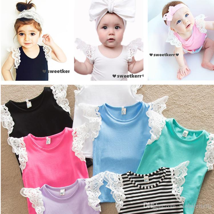 cde62a889 2019 Stylish Girls Top Infant Tees Fashion Baby Kids Girls Clothing ...