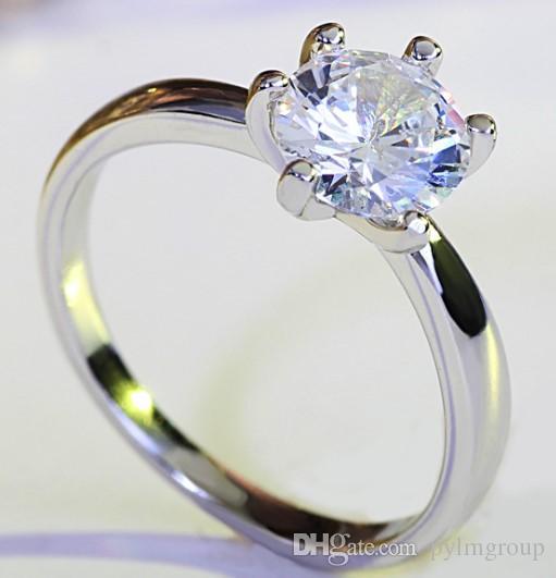wedding ring Dimond Engagement gold Ti new arrive arrow heart Anniversary wholesale Solitaire lady UK CA crastyle women Paris EUR US