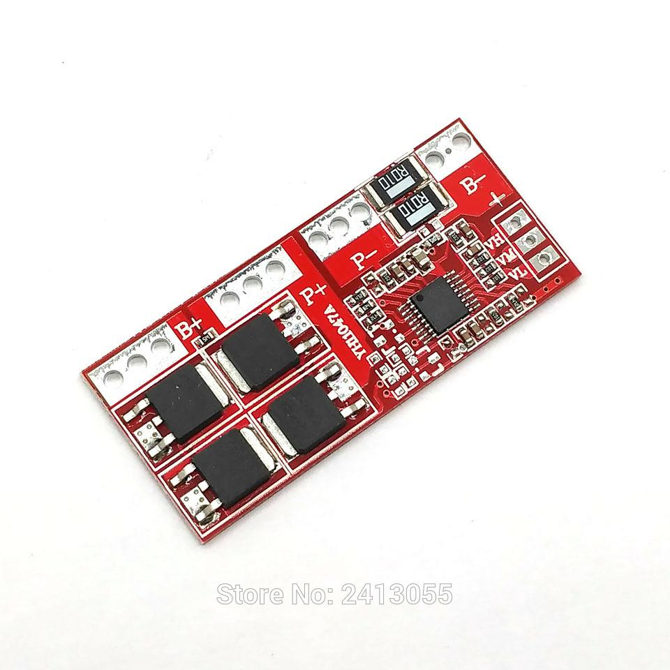 4s 30a High Current Li Ion Lithium Battery 18650 Charger Protection Board 144v 148v 168v Overcharge Over Short Circuit Online With