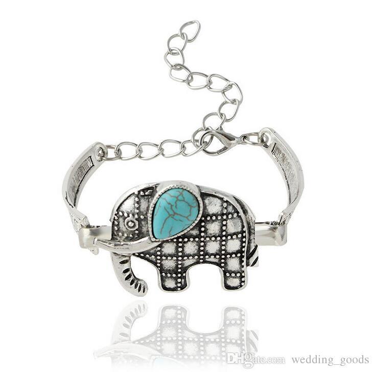 Good A++ Explosive Imitation Thai Silver Owl Retro Bracelet Animal Bracelet FB273 a Charm Bracelets