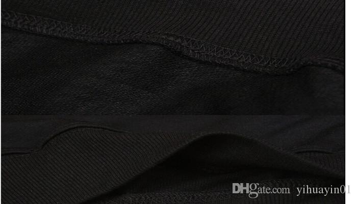 Felpa con cappuccio da uomo di alta qualità con cappuccio nero Hip Hop Mantelle e felpe con maniche lunghe Design Mantello Cappotti invernali Outwear