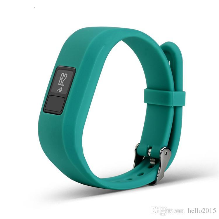 Garmin VivoFit3 Vivofit 3 Smart Watchのための工場価格新しいソフトシリコーン交換用リストウォッチバンドストラップ
