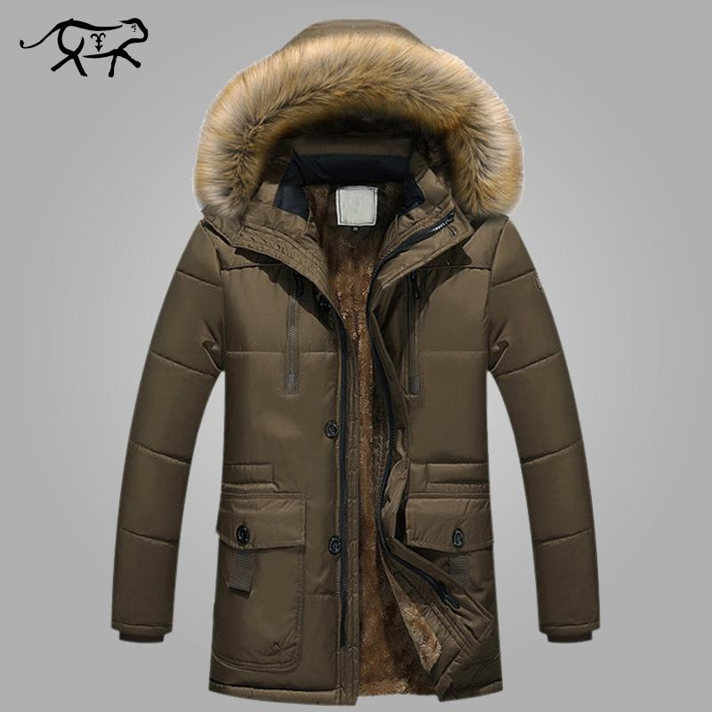New Brand Clothing Winter Men Jacket Fashion Mens Winter Parka ...