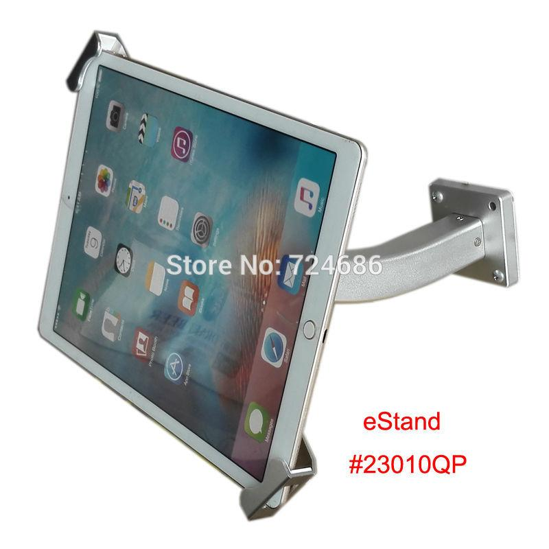 wholesale for ipad pro security wall mount with lock bracket display 97 to 129 tablet for surface mounting on bank or hotel from phanix - Tablet Wall Mount