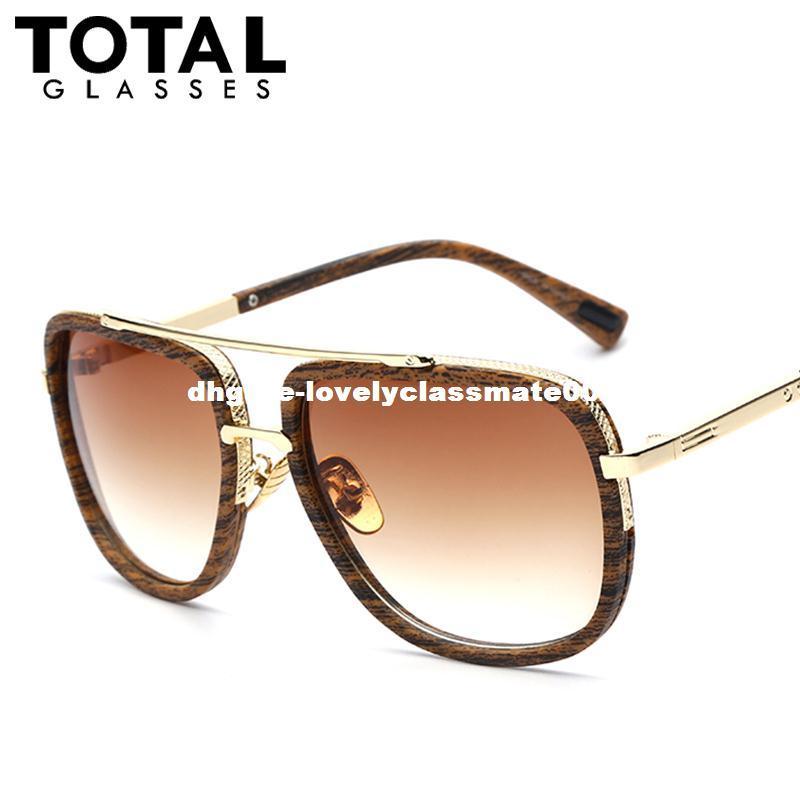 Großhandel Marke Designer Sonnenbrille Männer Frauen Retro Vintage ...