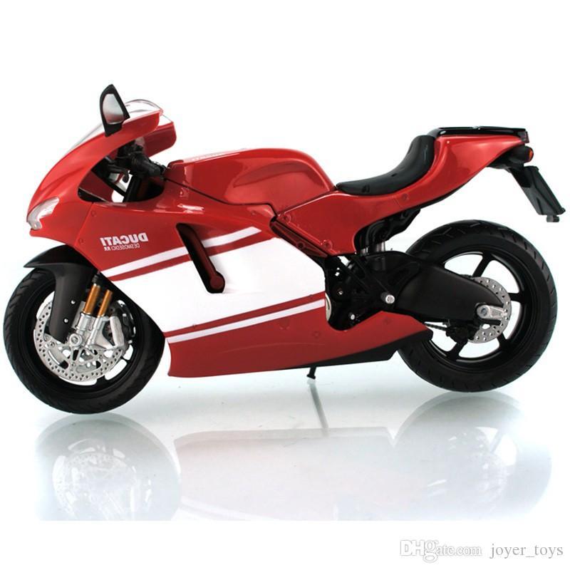 2018 1:12 Maisto Ducati Desmosedici Rr White Red cast Model ...