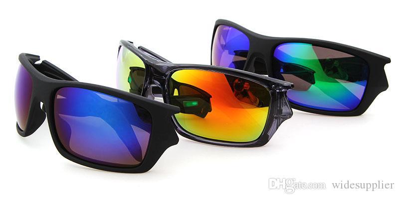 Kaliteli Marka Erkekler ve Kadınlar Için Güneş Gözlüğü Marka tasarımcı Vintage Spor Güneş gözlükleri Popüler Rüzgar Bisiklet Ayna Spor Açık Gözlük