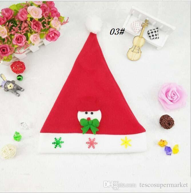 2017 yeni Noel pazen yetişkin şapka led ışıkları yanıp sönen Santa Claus şapka kafa dekorasyon atmosferi