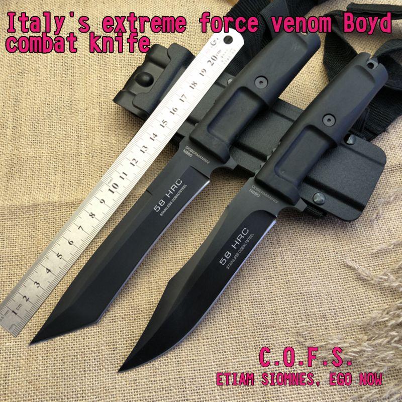 Italian Extreme Force Venom Boyd Combat Knife The Blade