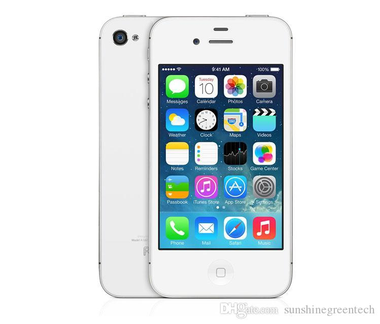 Refubished iPhone 4S 16GB 100% Original Apple iPhone Unlocked Smartphone IOS Dual Core 3.5 inch