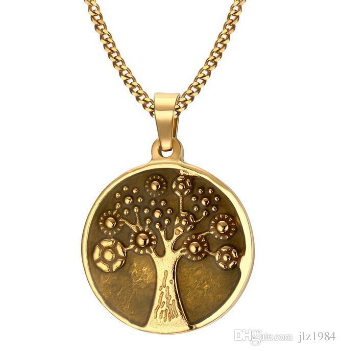 Wholesale 2017 New Design Jewelry Stainless Steel Wishing Tree