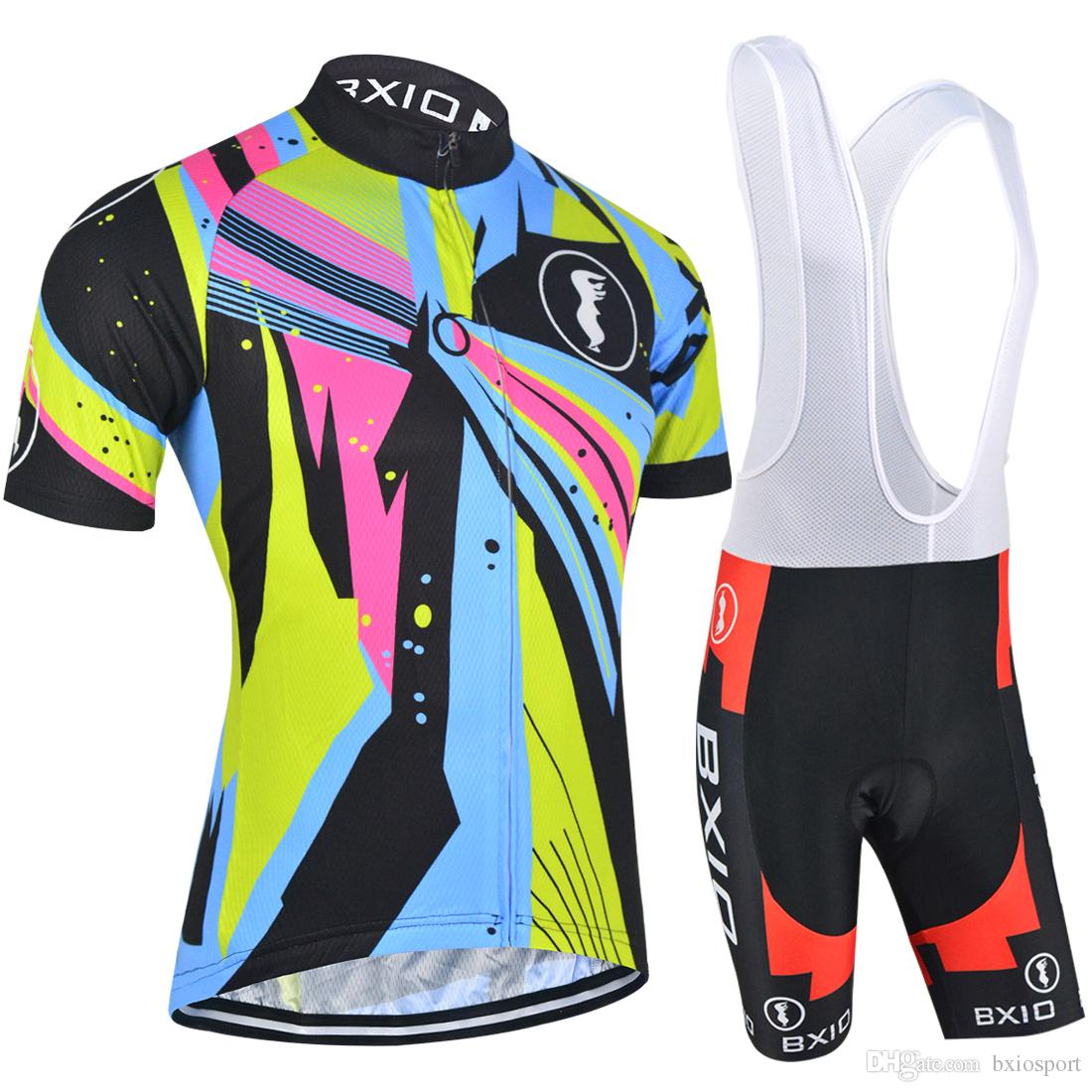 2017 New BXIO Brand Cycling Jerseys Summer Pro Team Bike Clothes Quick Dry  Bikes Clothes Custom Cycling Kits MTB Men S Bicycle Wear BX 054 Womens  Cycling ... 38f081eb6