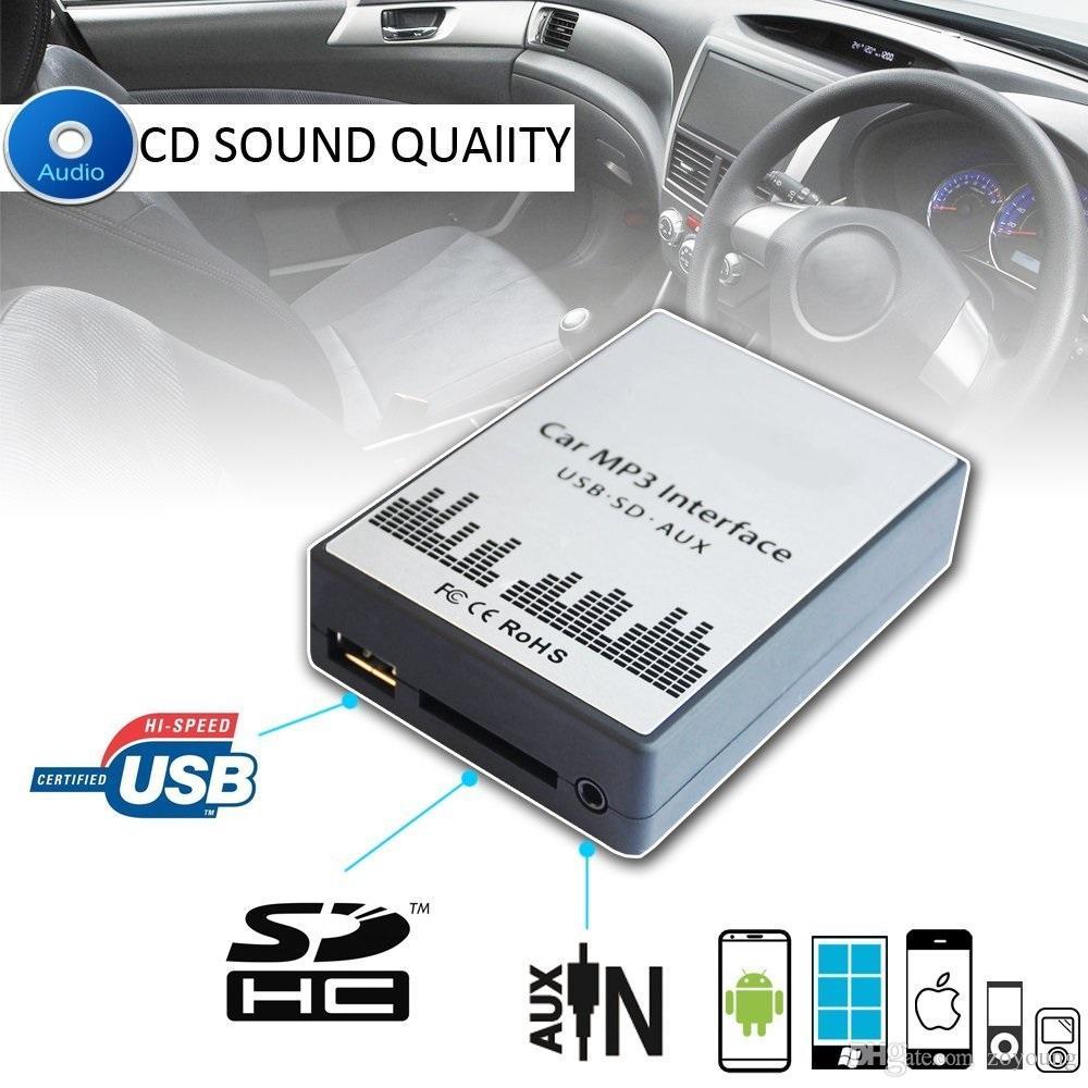 Автомобильный MP3-плеер SD USB CD AUX вход аудио адаптер цифровой CD-чейнджер для BMW 7 Z8 MINI R5x Rover 75 17Pin