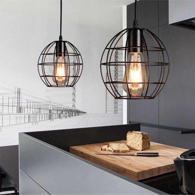 vintage pendant light american country style industrial loft lamps