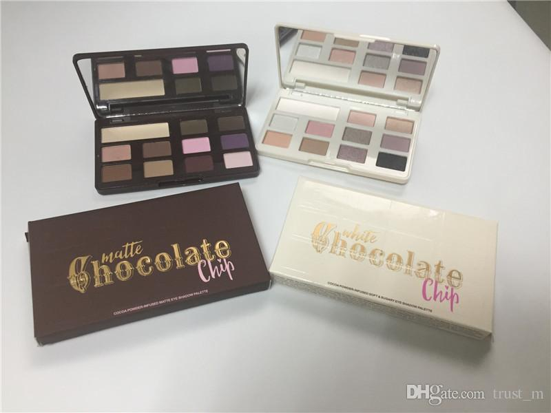 En stock Hot Chocolate Chip Eye Shadow 11 couleurs édition limitée MINI fard à paupières Palette Maquillage professionnel