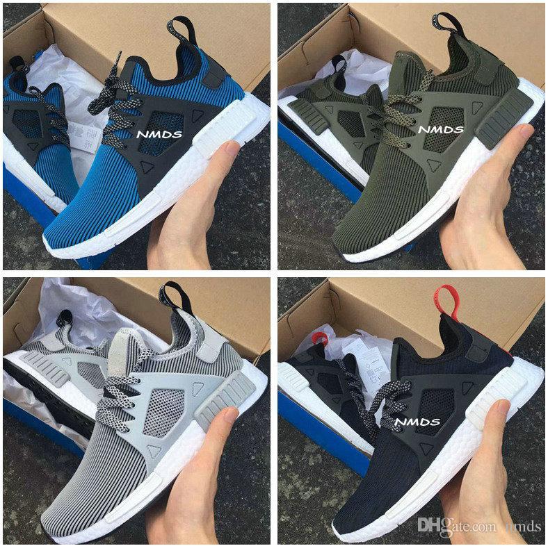 e3272aa3fc5 Adidas Boost NMD R1 PK Winter Wool BB0679 Core Black Primeknit