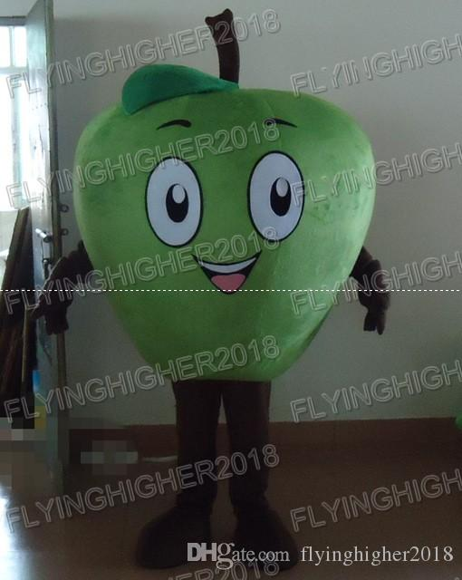 christmas big green apple mascot costume for adults christmas halloween outfit fancy dress suit halloween costumes children zorro costumes from - Apple Halloween Costumes