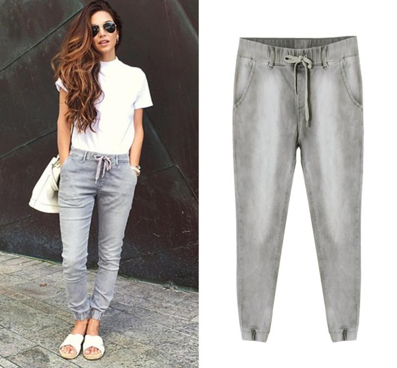 Compre Atacado Moda Corredores Mulheres Soltas Basculador Calças Jeans Hip  Hop Street Wear Harem Pants Para Mulheres Femme Feminino De Edwiin04 606ef3c5bb7