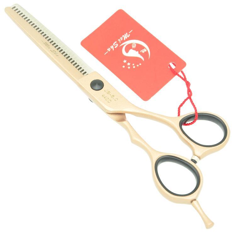 5.5Inch 6.0Inch MeiSha Hairdressing Salon 62HRC Professional Hair Thinning Scissors Hot Hair Scissors JP440C Best Haircut Shears,HA0248