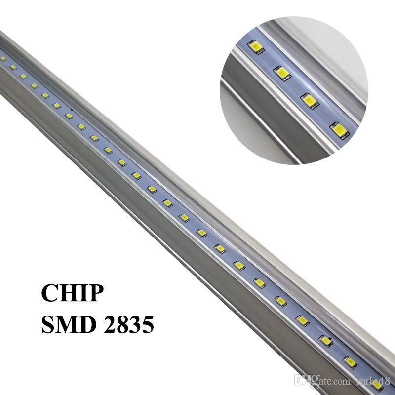 T5 1200mm統合22W LEDチューブライト96ピースSMD 2835 LED蛍光4FTチューブライトAC 85-277V暖かい/ナチュラル/クールホワイト2100LM + CE