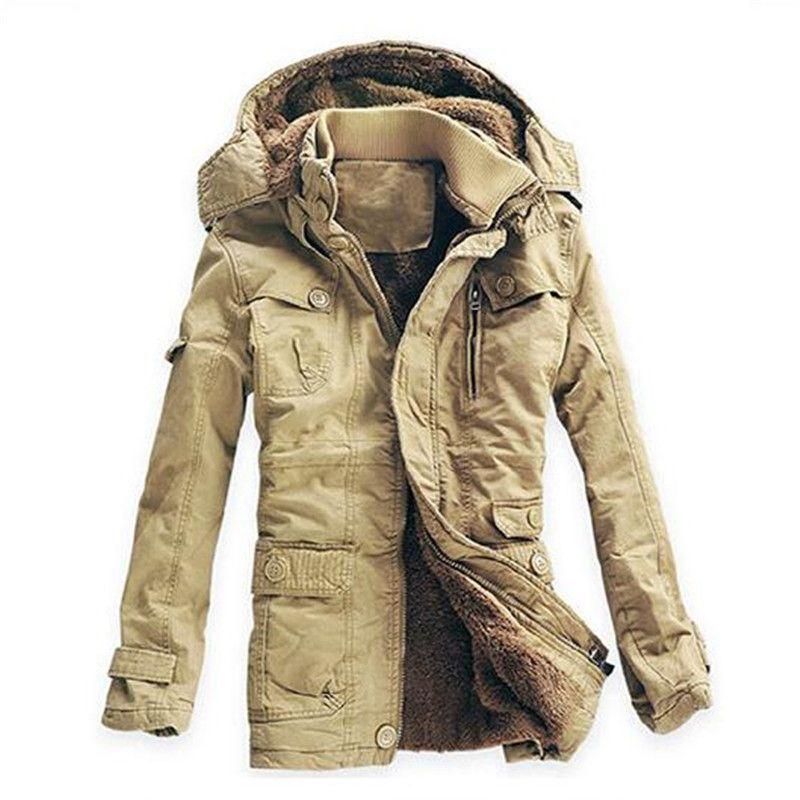 fd19fdc9c4f 2019 Wholesale Plus Size 5XL Winter Thick Coat Men Cotton Fur Collar  Russian Winter Long Parkas Mens Slim Fit Fashion Outcoat Warm Snow Jackets  From Brry