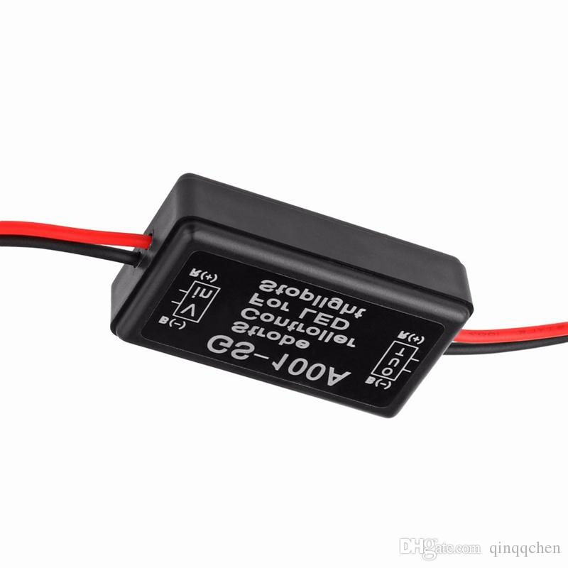 Universal GS-100A 12--24V Flash Strobe Controller Flasher Module for LED Flashing Back Rear Brake Stop Light Lamp Car Accessories