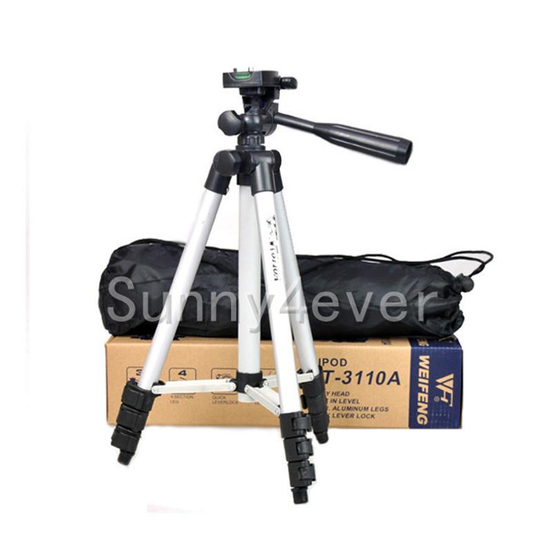 3110A профессиональный штатив камеры гибкий алюминиевый портативный держатель палочки 106 см для Sony Nikon Canon все цифровые камеры записи видео
