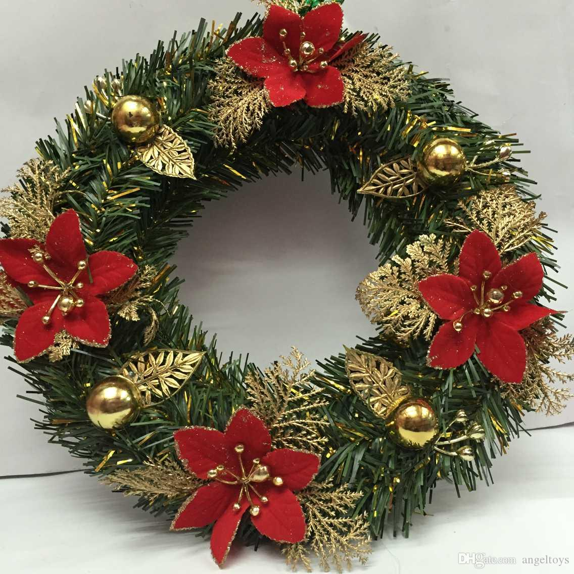 he companys products are european and american style used to decorate the shop is particularly beautiful high grade a large amount of wholesale - Christmas Flower Decorations