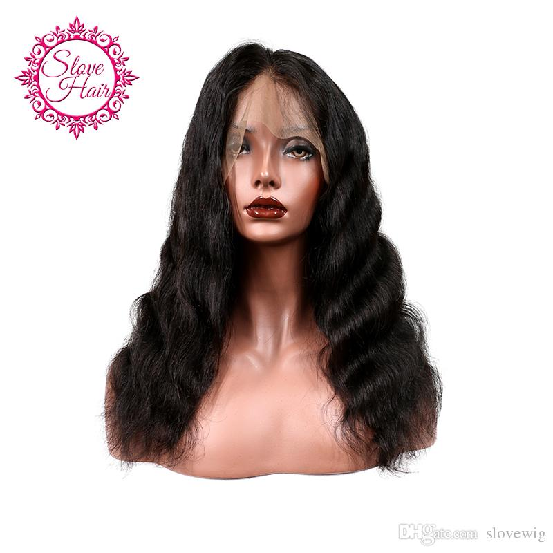 Slove Best Human Hair 360 Lace Frontal Wigs Virgin Hair Glueless Full Lace  Wigs With Baby Hair Short Lace Wig Wigs For White Women From Slovewig a1a262834e