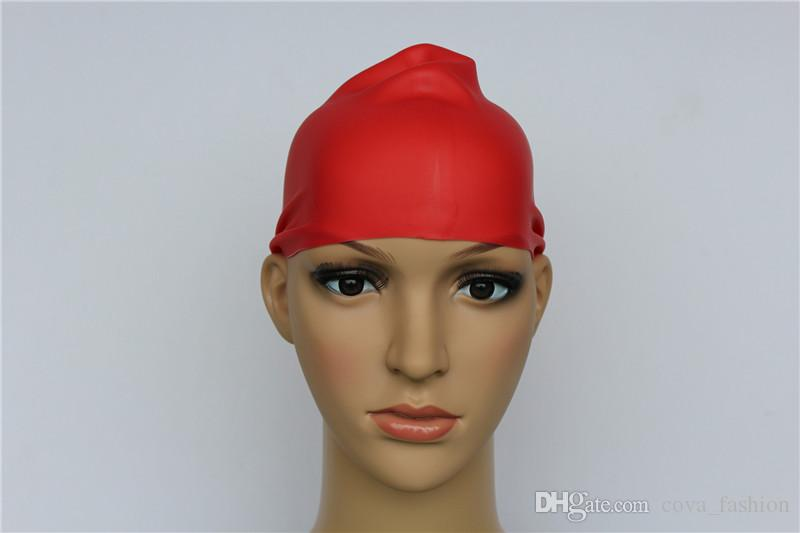 Tapas de natación de silicona para adultos Nuevas tapas de ducha de color sólido para hombres y mujeres es disponibles
