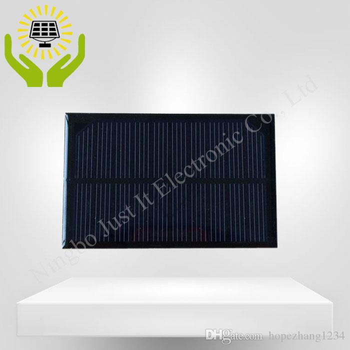 Epoxy Small Solar Panel 5V 200mA 1W 120*70mm