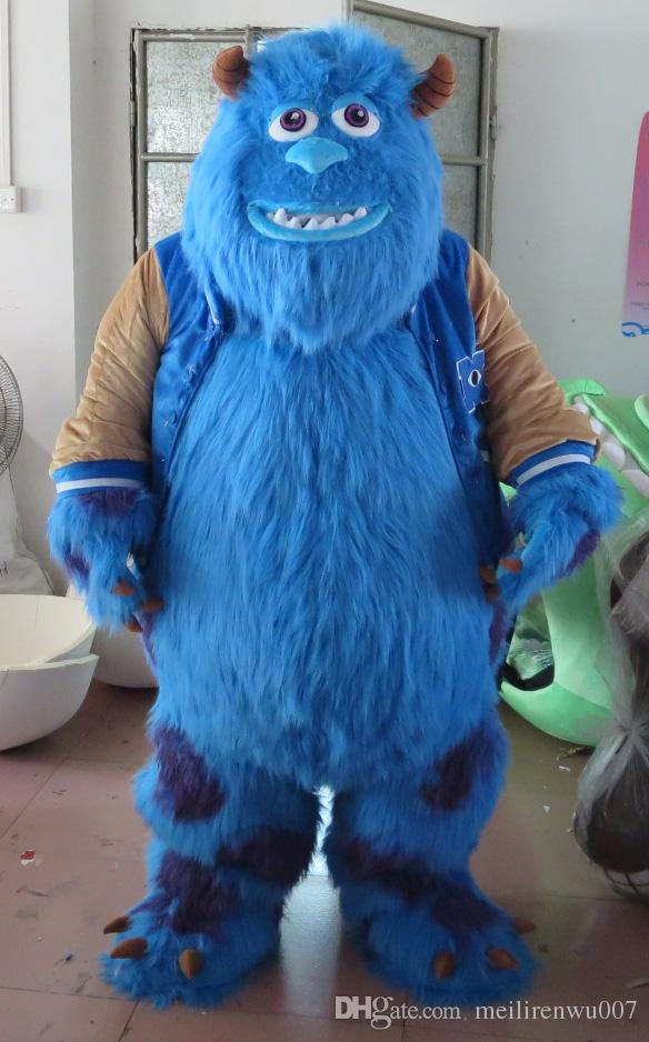 Monsters Inc Mascot Costumes & Image Is Loading New-Mike