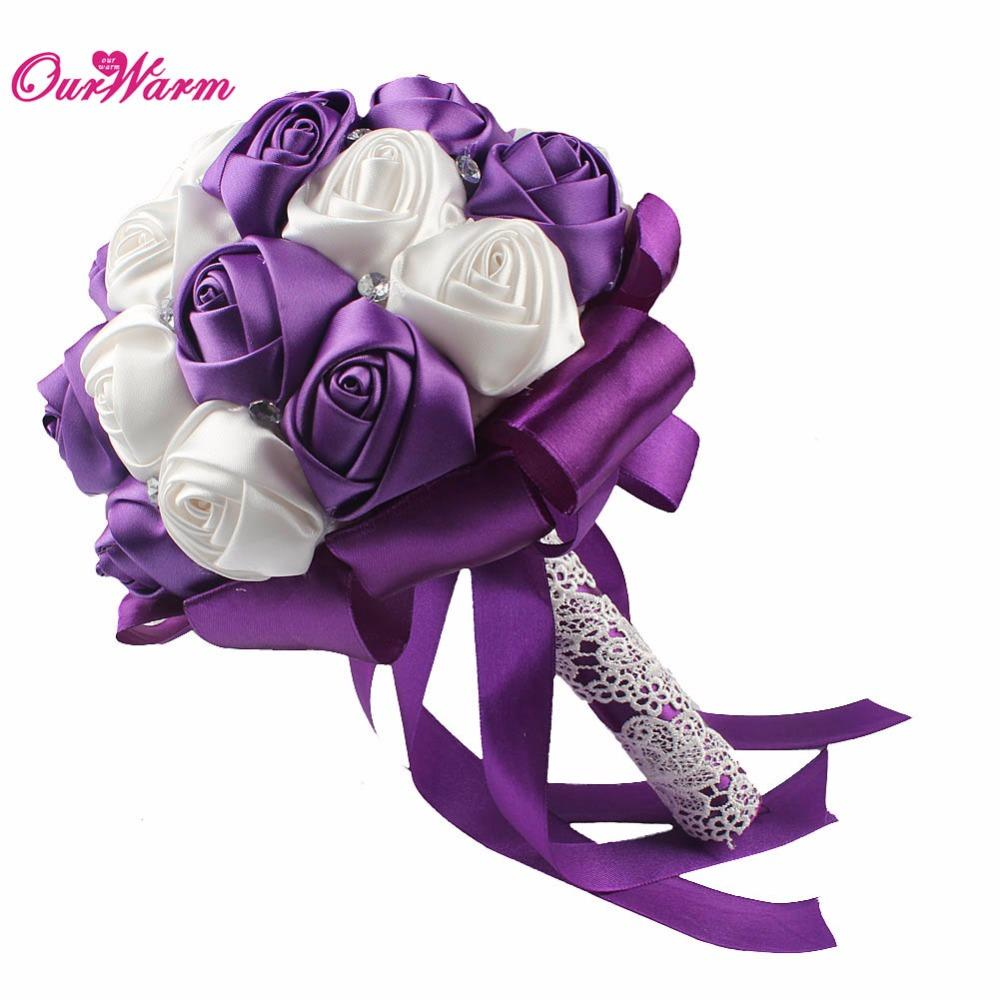 Wholesale Artificial Flower Rose Silk Flowers For Wedding Decoration