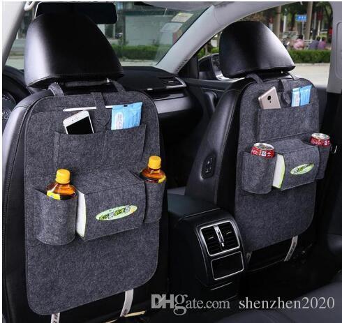 2017 isolierung Arbeit Stil Auto Autositz Organizer Kleinigkeiten Halter Tasche Reise Aufbewahrungstasche Kleiderbügel Rücksitz Organisieren Box