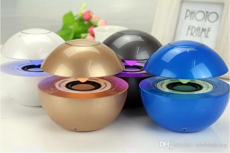 New Portable Bluetooth Speaker BT118 Hands-free Speaker Singing Swan Bluetooth Portable Mini Wireless MP3 Player 4.0