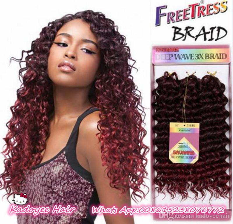 Discount Synthetic Bounce Gogo Curl Kanekalon Hair Extension 3x