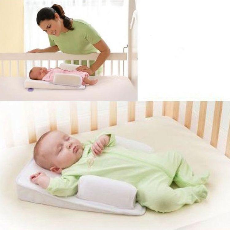 0-6 meses recém-nascido sono posicionador bebê anti rollover travesseiro de dormir travesseiro de enfermagem ventilação