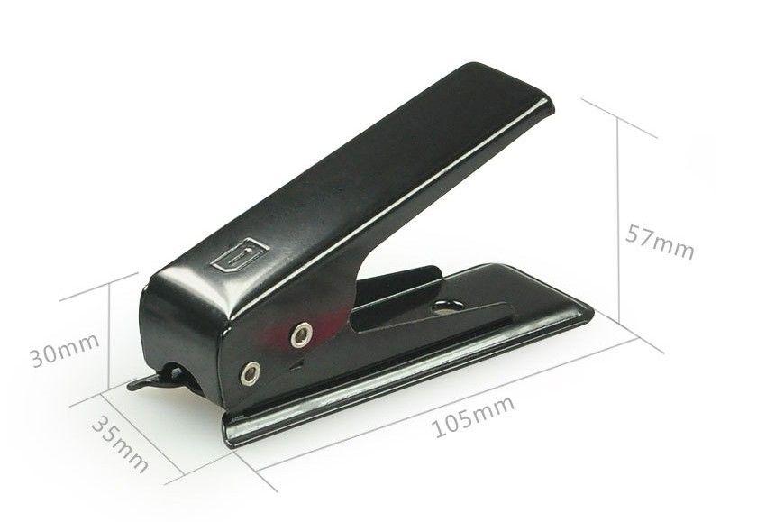 Simulatore di alta qualità Sim Cutter Standared Sim Nano Sim Card Cutter iPhone Samsung Nokia Sony LG Motorola spedizione gratuita