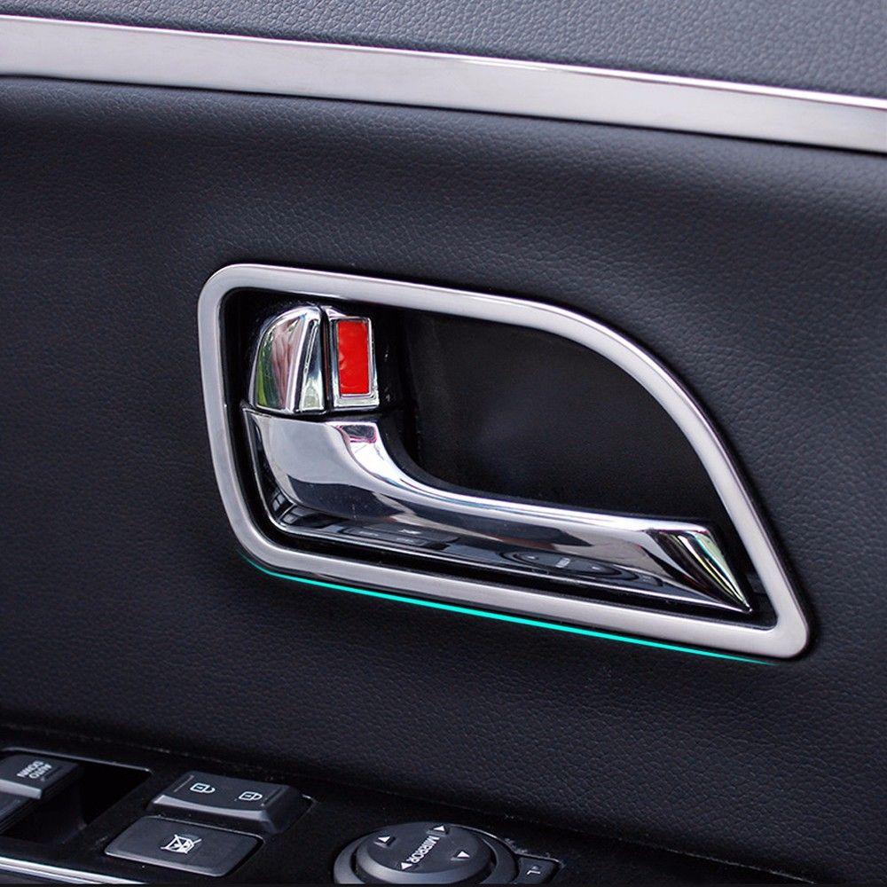 2018 Plastic Chrome Car Interior Door Handle Decoration Trim Frame
