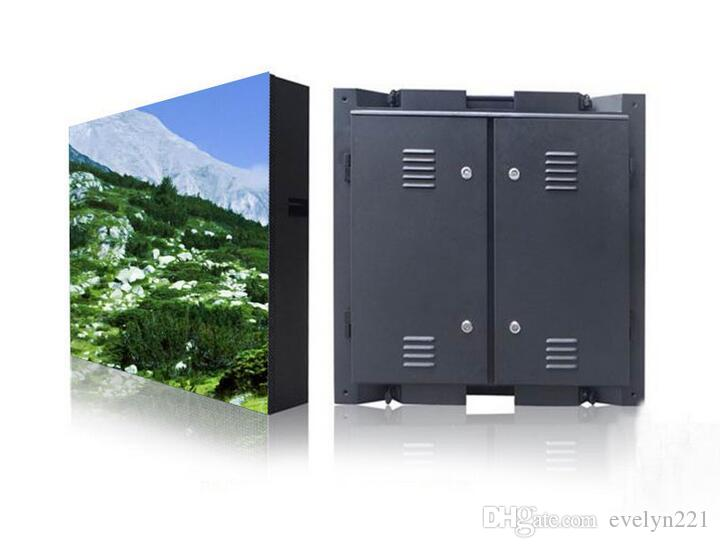 960 * 960mm Wasserdichtes Gehäuse RGB DIP Voll Farbe P10 LED Display Wasserdichte im Freien großen Bildschirm 96 * 96 Pixel